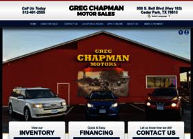 gregchapmanmotors.com