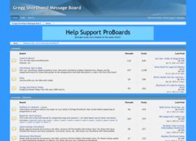 greggshorthand.proboards.com