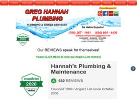 greghannahplumbing.com