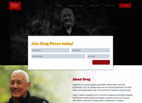 gregpenceforcongress.com