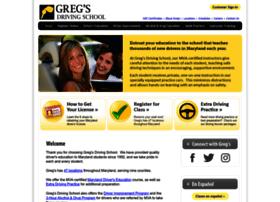 gregsdrivingschool.net