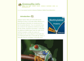 grenouille.info