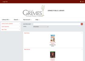 grimes.polarislibrary.com