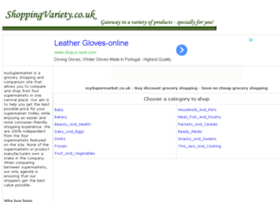 grocery-shopping.shoppingvariety.co.uk