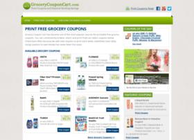 grocerycouponcart.com