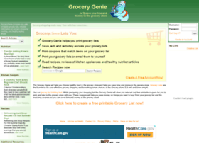 grocerylists.com