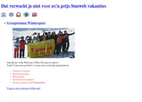 groepsreizen.sunweb.nl