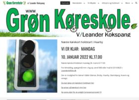 gron-koreskole.dk