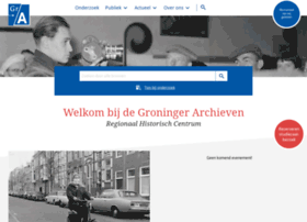 groningerarchieven.nl