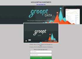 grooptdata.launchrock.com