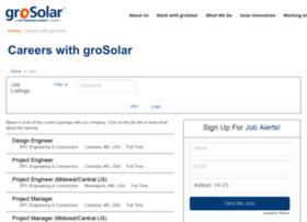 grosolar.applicantpro.com
