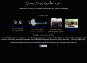 grossepointegothic.com