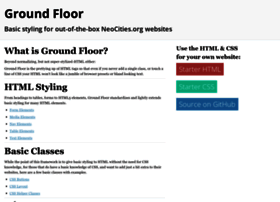 groundfloor.neocities.org