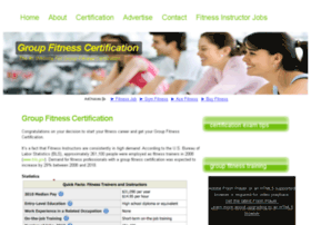 groupfitnesscertifications.com