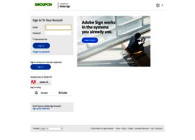 groupon.echosign.com