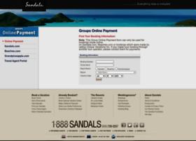 groupsonlinepayment.sandals.com