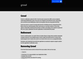 growl.info
