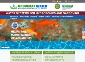 growmaxwater.com