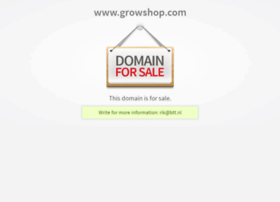 growshop.com