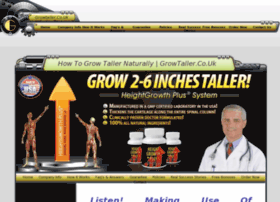 grow taller naturally growtaller co uk making use of heightgrowth plus