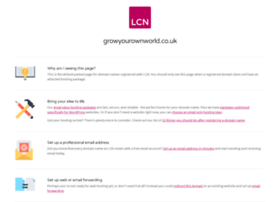 growyourownworld.co.uk