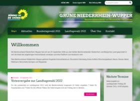 gruene-niederrhein-wupper.de