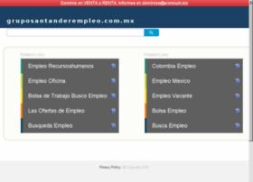 gruposantanderempleo.com.mx