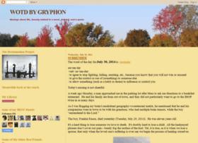 gryph-wotd.blogspot.com