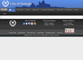 gsa.raleighnc.gov