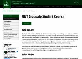 gsc.unt.edu