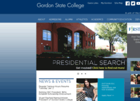 gscweb.gordonstate.edu