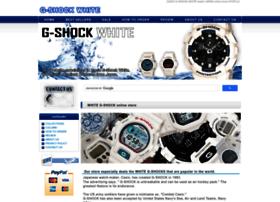 gshock-white.com
