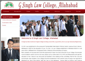 gsinghlawcollege.ac.in