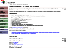 gstreamer.freedesktop.org