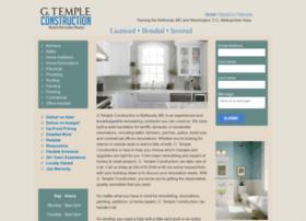 gtempleconstruction.com