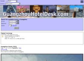 guangzhouhoteldesk.com