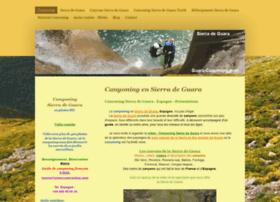 guara-canyoning.com
