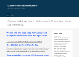 guaranteedissuelifeinsurance.net