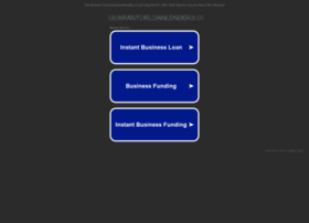 Guarantorloanlenders.co.uk