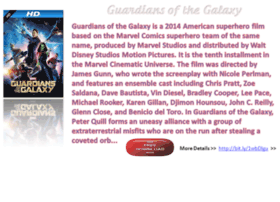 guardiansofthegalaxybluray.blogspot.com