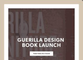guerilladesignbooklaunch.splashthat.com