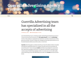 guerrillaadvertisingagency.wordpress.com