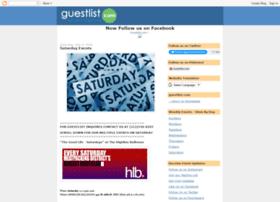 guestlistdotcom.blogspot.com