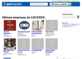 guia-caceres.guiaespana.com.es