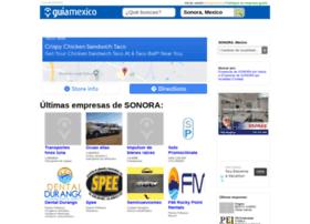 guia-sonora.guiamexico.com.mx