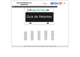 guiadepatentes.com.ar