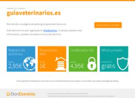 guiaveterinarios.es