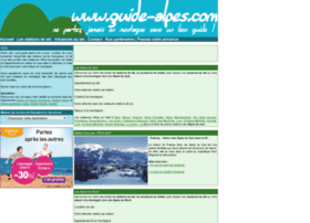 guide-alpes.com