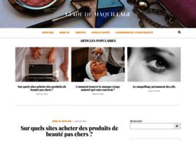 guidedumaquillage.fr