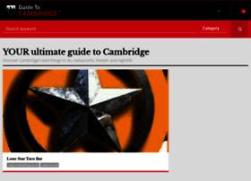 guidetocambridge.com